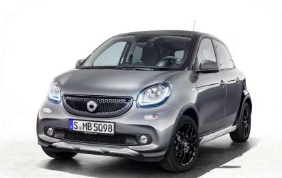 Smart ForTwo Brabus Edition #2 e ForFour CrossTown