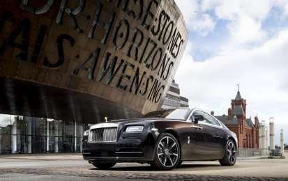 Rolls Royce Wraith Inspired by British Music