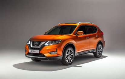 Nissan X-Trail restyling 2017