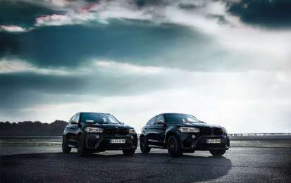 BMW X5 e X6 M Black Fire Editon