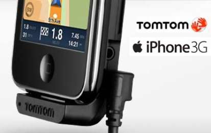 Accessori auto: Tom Tom per iPhone