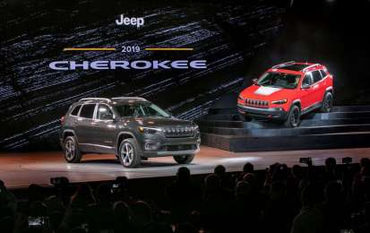 Jeep Cherokee restyling 2018