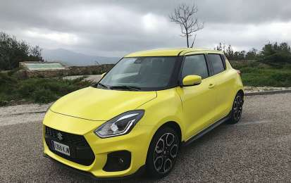 Nuova Suzuki Swift Sport: la prova in Andalusia
