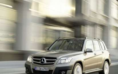 Mercedes GLK 200 CDI Bluefficiency