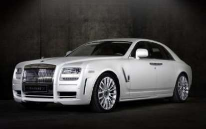 Tuning Rolls-Royce Ghost by Mansory