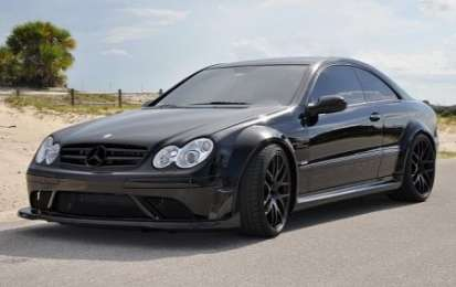 Mercedes CLK63 AMG Black Series by Renntech