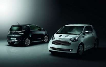Aston Martin Cygnet, edizioni limitate Black e White