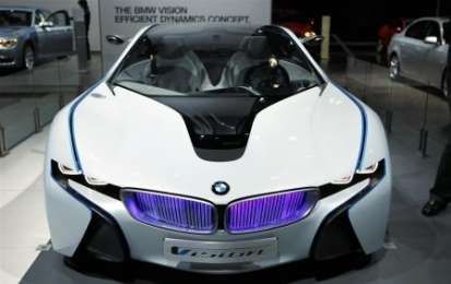 BMW Vision EfficientDynamics al Salone di Melbourne