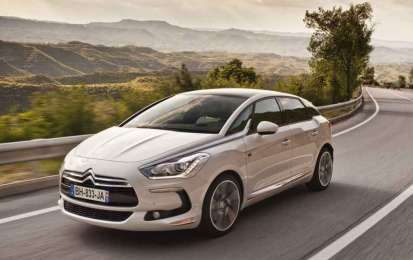 Citroen DS5 Hybrid4 in mostra a H2Roma 2011