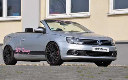 Volkswagen Eos by MR Racing: tuning in rosa per le donne