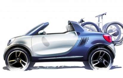 Smart For-us, concept car che anticipa la quattro posti