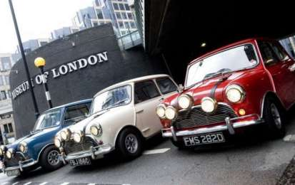Auto da film: le Austin Mini Cooper S Mk1 di 'The Italian Job'