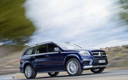 Mercedes-Benz GL 2012, dettagli del restyling [FOTO e VIDEO]