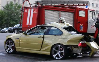 BMW M Club pericoloso incidente in Russia