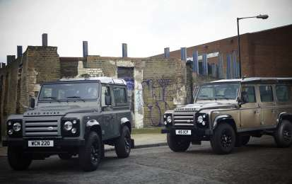 Land Rover Defender XTech 2012, foto ufficiali