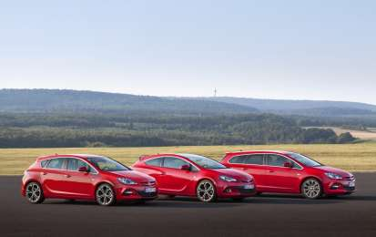Opel Astra BiTurbo Sports Tourer, GTC e berlina