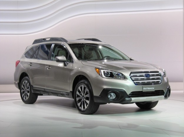 Subaru Outback 2015 al Salone di New York