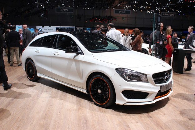 Mercedes CLA Shooting Brake al Salone di Ginevra 2015
