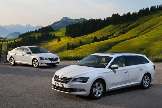 Skoda Superb GreenLine, berlina e station wagon