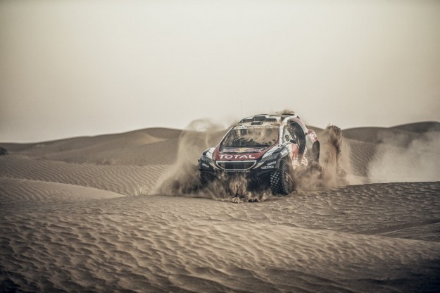 Peugeot 2008 DKR 2015+ Silk Road Rally