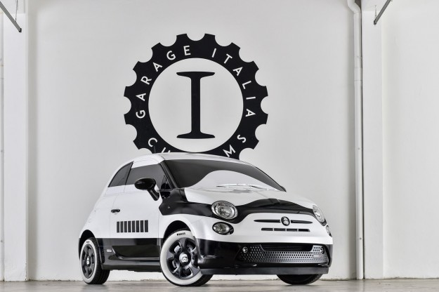 Fiat 500e Star Wars by Garage Italia Customs