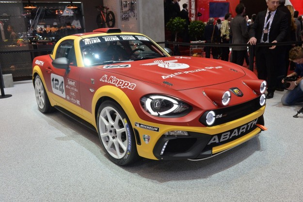 Abarth 124 Rally al Salone di Ginevra 2016