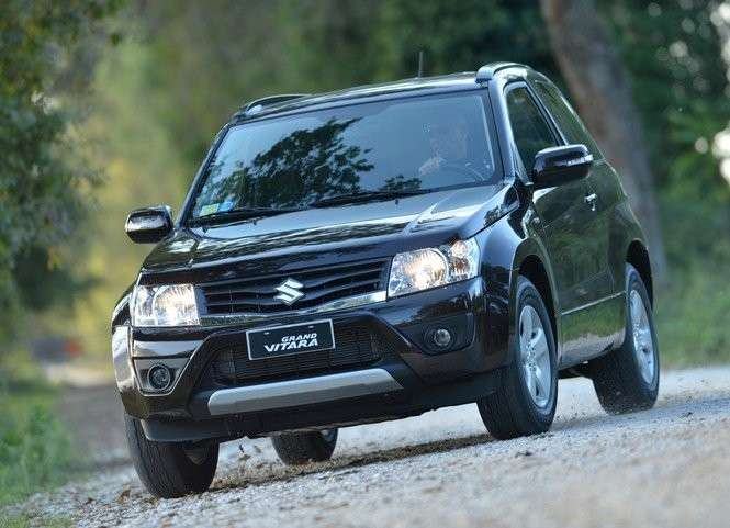 Suzuki Grand Vitara 2012 restyling