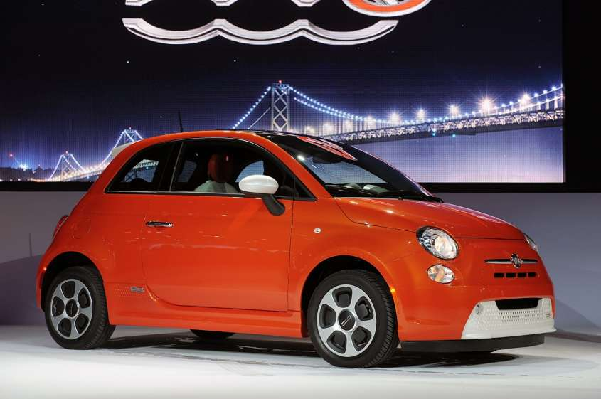 Fiat 500e al Salone di Los Angeles 2012