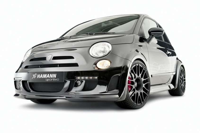 Fiat 500 kit Sportivo by Hamann, foto