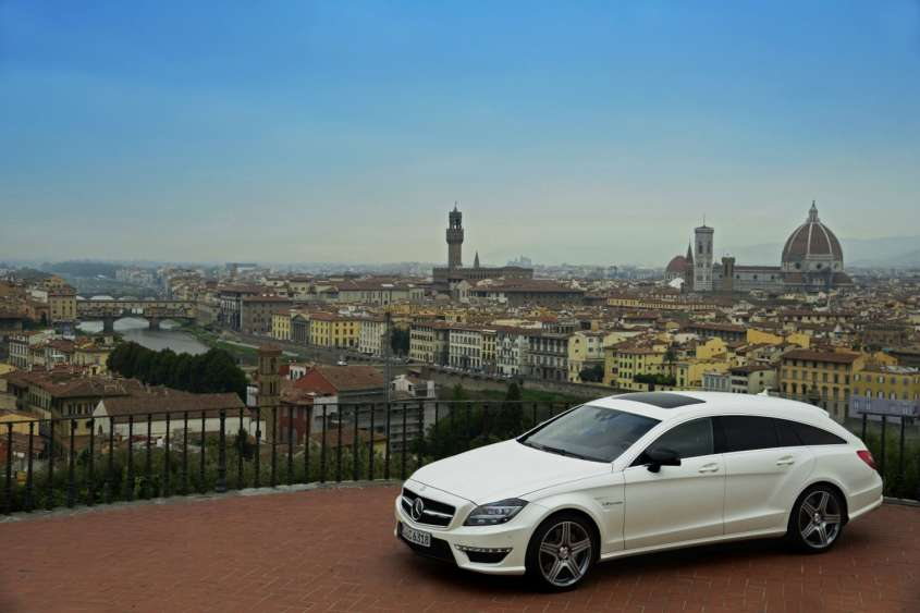 Mercede Cls Shooting Brake, tutte le foto