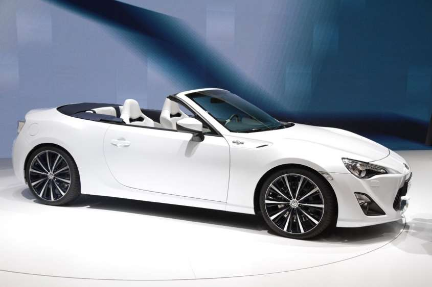 Toyota FT 86 Open Top Concept, foto