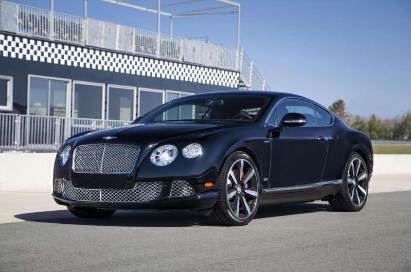 Bentley Continental GT e Mulsanne Le Mans Edition