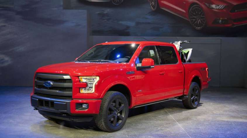 Ford al Salone di Detroit 2014