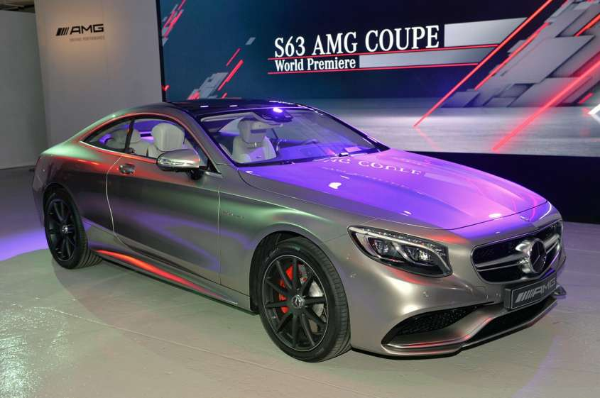 Mercedes S63 AMG Coupé al Salone di New York 2014