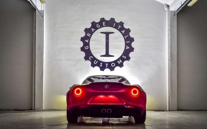 Alfa romeo 4c by garage italia customs foto allaguida for Garage specialiste alfa romeo