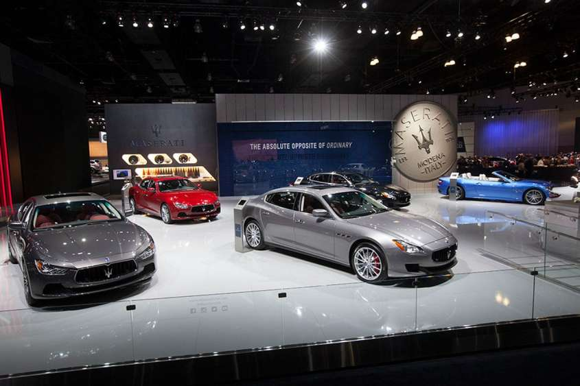 Maserati al Salone di Los Angeles 2015