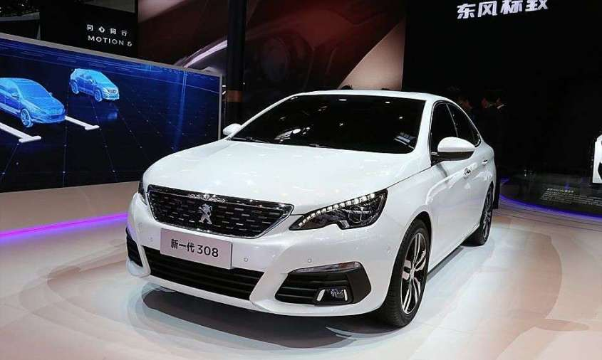 Peugeot 308 Berlina Salone di Pechino 2016