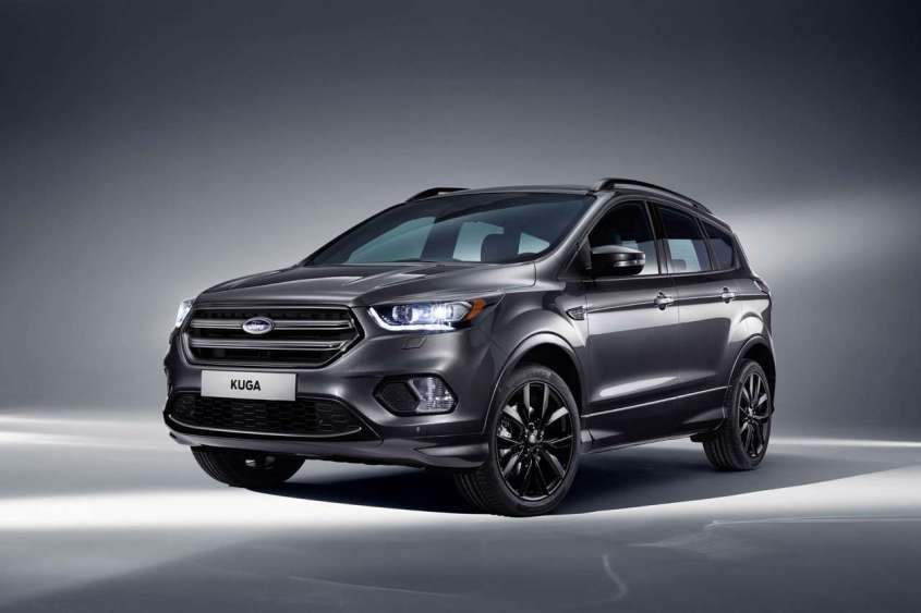 ford kuga st line 2017 motori e scheda tecnica del suv sportivo foto allaguida. Black Bedroom Furniture Sets. Home Design Ideas