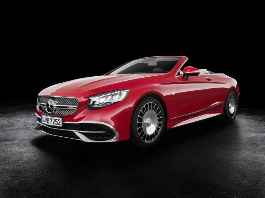 Mercedes Maybach S650 Cabrio