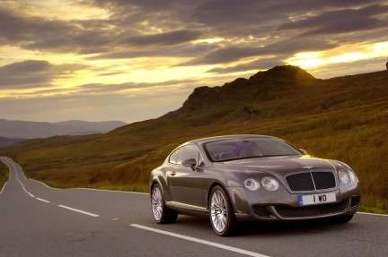 Bentley Continental: l'ibrida è già realtà