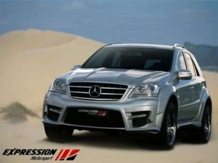 Tuning Mercedes: ML 63 AMG Wide Body da Expression Motorsport