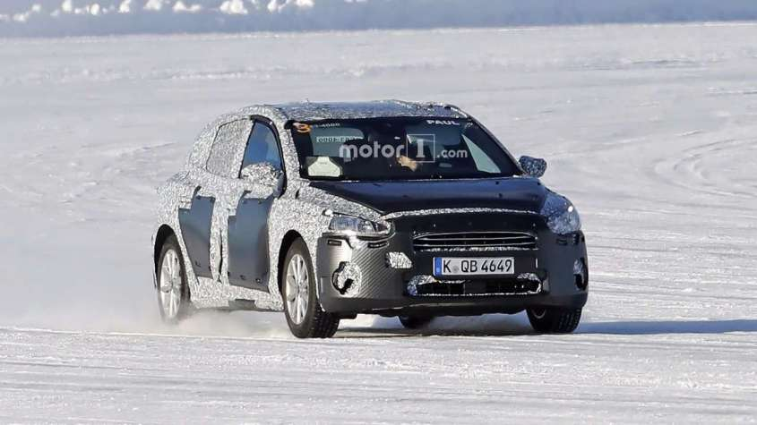 Ford Focus 2018, foto spia