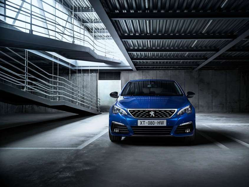 Nuova Peugeot 308 restyling 2018