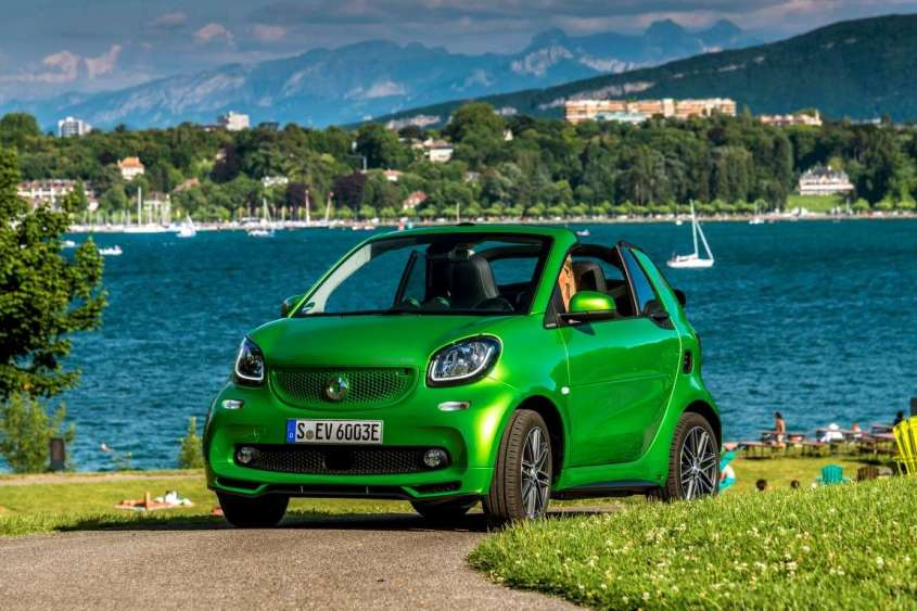 Nuova Smart Electric Drive cabrio
