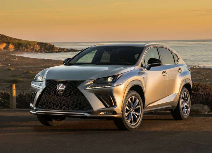 lexus nx hybrid 2018 prezzo dimensioni e uscita del restyling foto allaguida. Black Bedroom Furniture Sets. Home Design Ideas