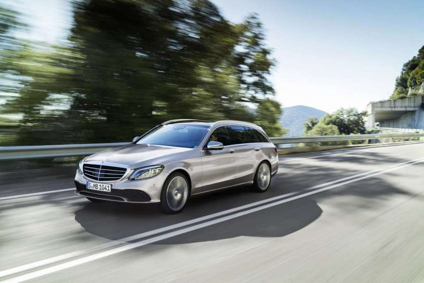 Mercedes Classe C 2018 restyling
