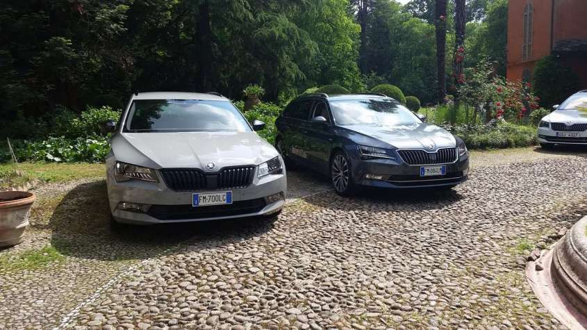 Skoda Superb Intelligent Drive