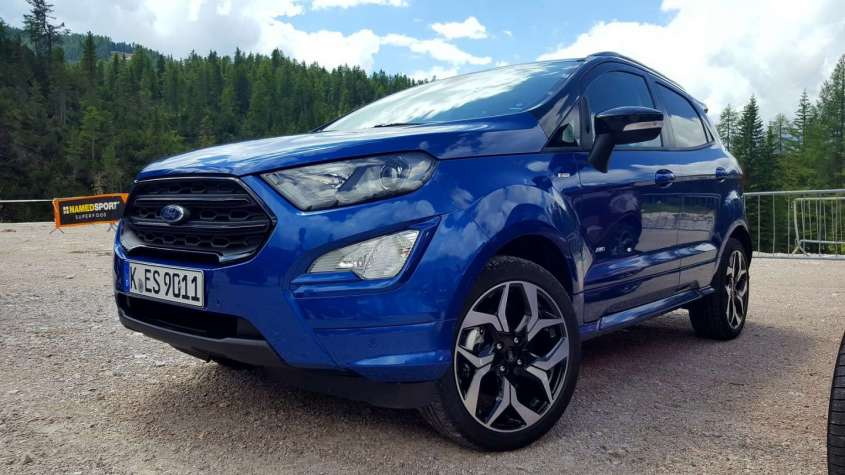 Ford Ecosport AWD, test drive
