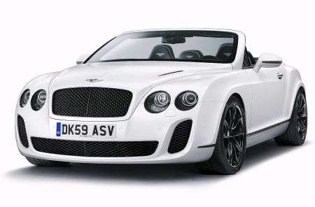 Salone di Ginevra 2010: Bentley Continental Supersport Convertibile