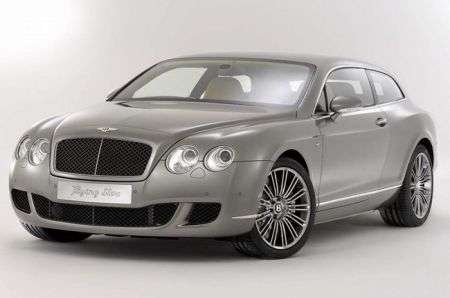 Bentley Continental Flying Star: foto ufficiali